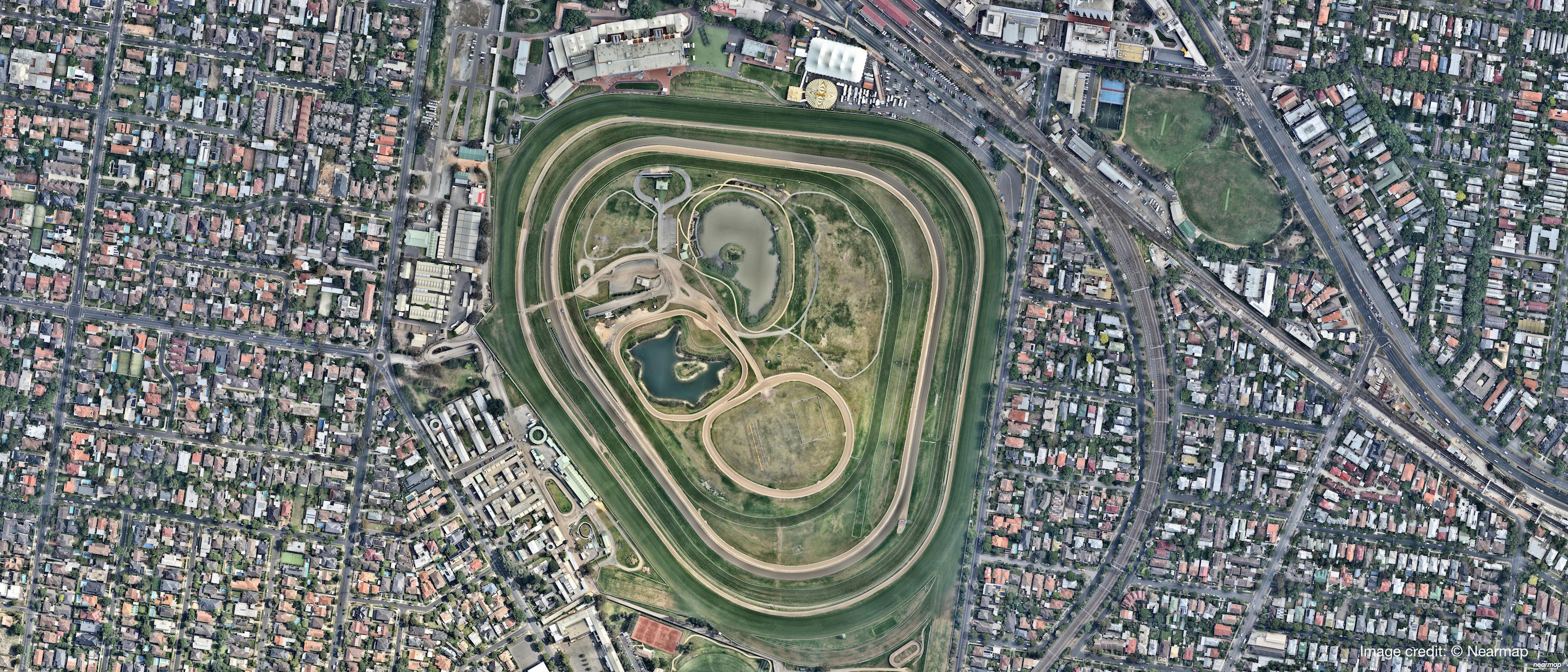 Parking Caulfield Racecourse